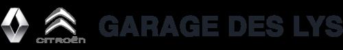 Garage des Lys • Garage Renault et Citroën à Villers Bocage • Logo sombre